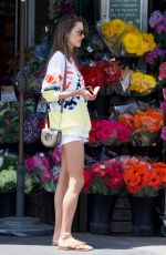 ALESSANDRA AMBROSIO Shopping at Whole Foods in Los Angeles 05/28/2018