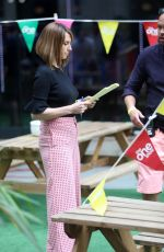 ALEX JONES at The One Show in London 05/09/2018