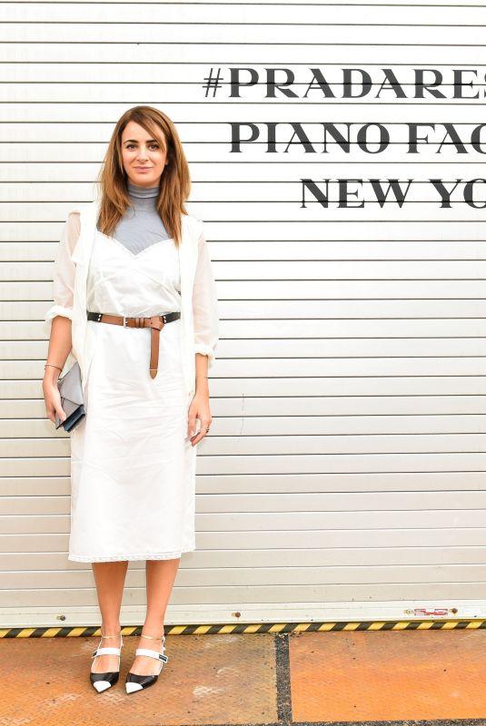 ALEXIA NIEDZIELSKI at Prada Resort: 2019 Show in New York 05/04/2018