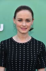 ALEXIS BLEDEL at Hulu Upfront Presentation in New York 05/02/2018