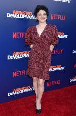 ALIA SHAWKAT at Arrested Development Show Premiere in Los Angeles 05/17/2018