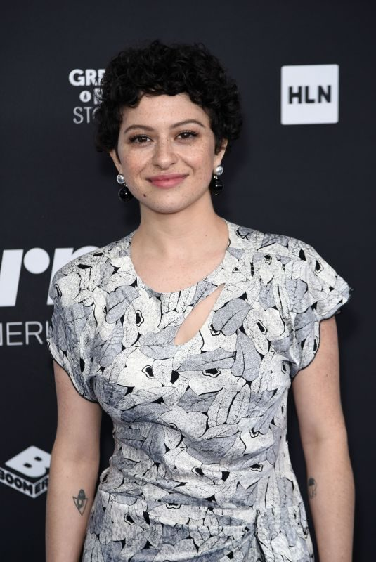 ALIA SHAWKAT at Turner Upfront Presentation in New York 05/16/2018