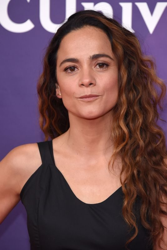 ALICE BRAGA at NBC/Universal Summer Press Day in Universal City 02/05/2018