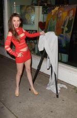 ALICIA ARDEN at a Social Media Contest in Los Angeles 05/01/2018