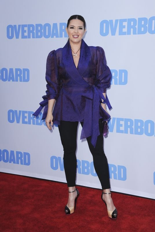 ALICIA MACHADO at Overboard Premiere in Los Angeles 04/30/2018