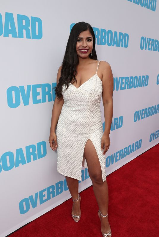 ALICIA SAAVEDRA at Overboard Premiere in Los Angeles 04/30/2018