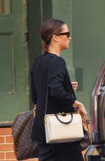 ALICIA VIKANDER Leaves Greenwich Hotel in New York 05/09/2018