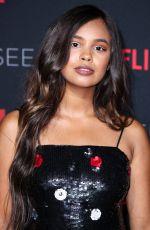 ALISHA BOE at Netflix FYSee Kick-off Event in Los Angeles 05/06/2018