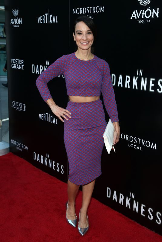 ALISON BECKER at In Darkness Premiere in Hollywood 05/23/2018