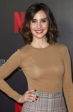 ALISON BRIE at Netflix Animation Panel Fysee Event in Los Angeles 05/21/2018