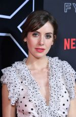 ALISON BRIE at Netflix FYSEE Kick-off Event in Los Angeles 05/06/2018