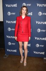 ALISON BRIE at Vulture Festival in New York 05/19/2018