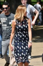 AMANDA HOLDEN Out at St James Park in London 05/20/2018