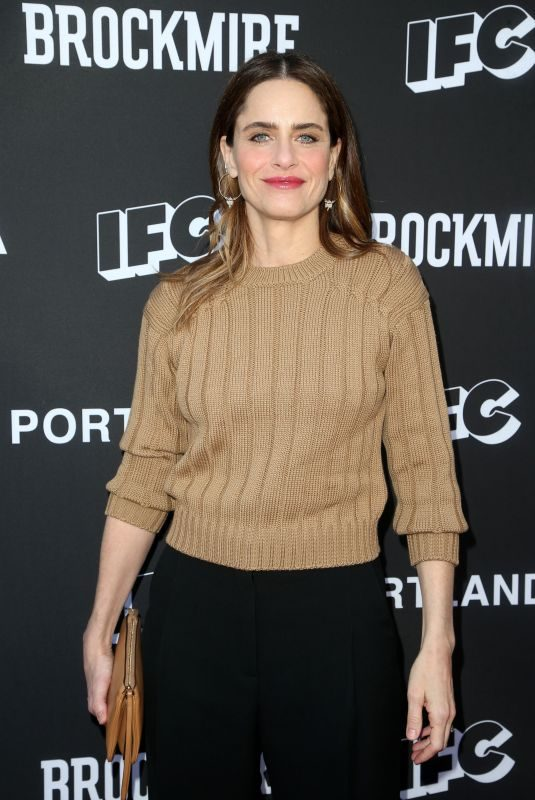 AMANDA PEET at Brockmire and Portlandia FYC Event in Los Angeles 05/15/2018