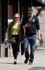 AMANDA SEYFRIED and Thomas Sadoski Out in New York 05/07/2018