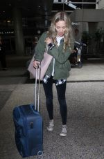 AMANDA SEYFRIED at LAX Airport in Los Angeles 05/11/2018