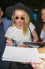 AMBER HEARD Arrives at Nice Airport 05/09/2018
