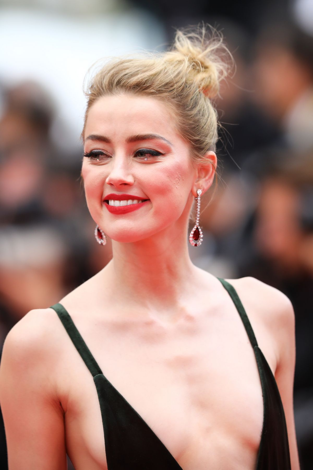 AMBER HEARD at Sorry Angel Premiere at Cannes Film ...