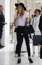AMBER HEARD Leaves Her Hotel in Cannes 05/13/2018