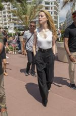 AMBER HEARD Out and About in Cannes 05/10/2018