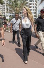 AMBER HEARD Out at Cannes Film Festival 05/10/2018