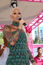 AMBER ROSE Hosts Memorial Day Weekend Go Pool Dayclub in Las Vegas 05/26/2018