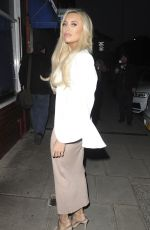 AMBER TURNER at MCK Grill 1st Birthday Party in London 05/04/2018