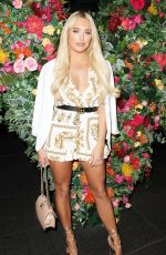 AMBER TURNER at Quiz x Towie Launch Party in London 05/10/2018