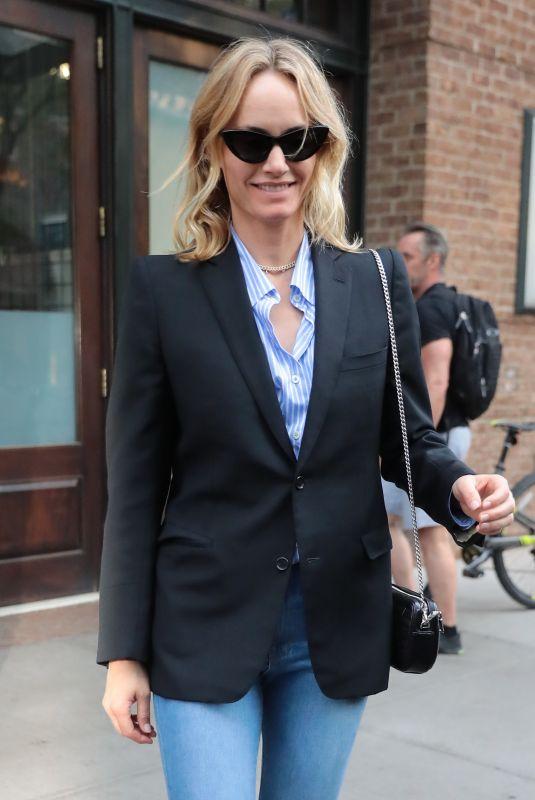 AMBER VALLETTA Leaves Greenwich Hotel in New York 05/09/2018