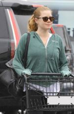 AMY ADAMS Shopping at Pavillions in West Hollywood 05/21/2018