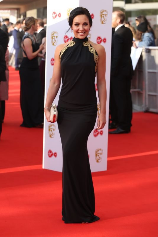 AMY DOWDEN at Bafta TV Awards in London 05/13/2018