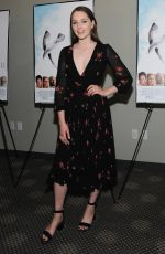 AMY FORSYTH at The Seagull Premiere in New York 05/10/2018