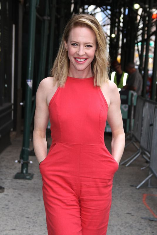 AMY HARGREAVES Arrives at Build Series in New York 05/23/2018