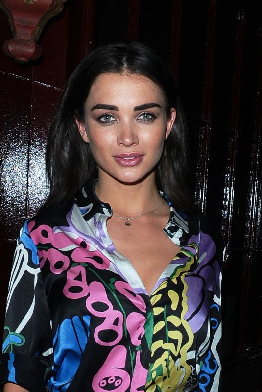 AMY JACKSON at Dior Backstage Launch Party in London 05/29/2018