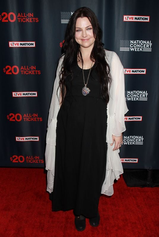 AMY LEE at Live Nation Launches National Concert Week in New York 04/30/2018