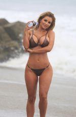 AMY LEE SUMMERS in Bikini for 138 Water Photoshoot in Malibu 05/08/2018