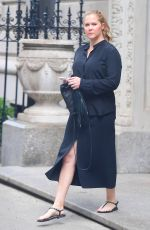 AMY SCHUMER Out and About in New York 05/23/2018