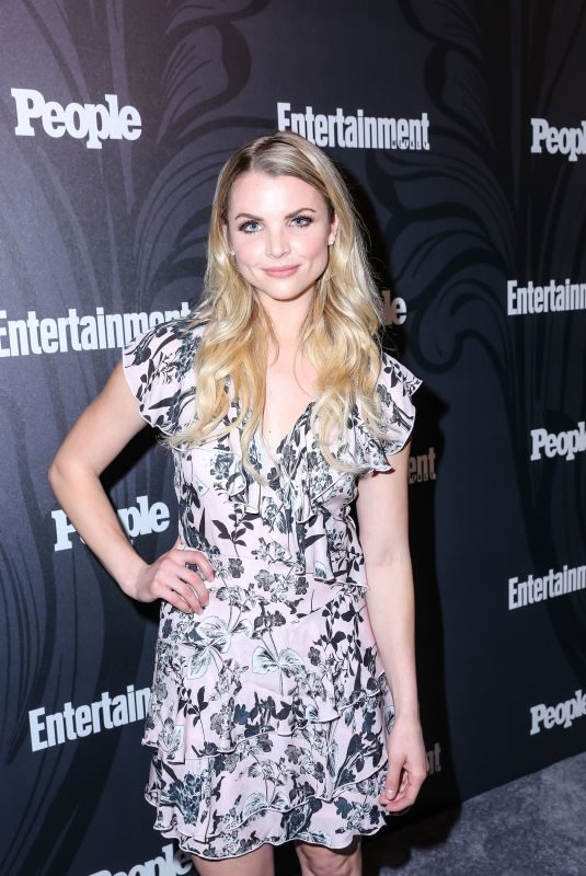 ANDREA BOEHLKE at EW & People New York Upfronts Celebration 05/14/2018