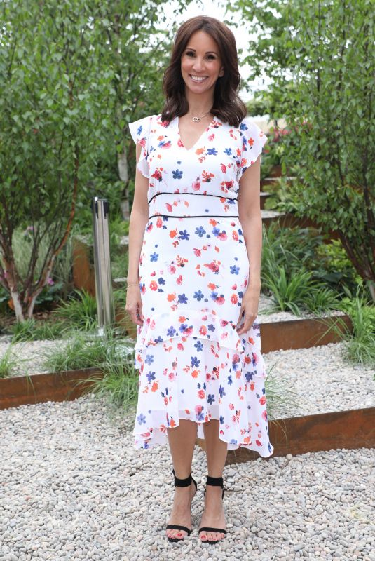 ANDREA MCLEAN at Chelsea Flower Show in London 05/21/2018
