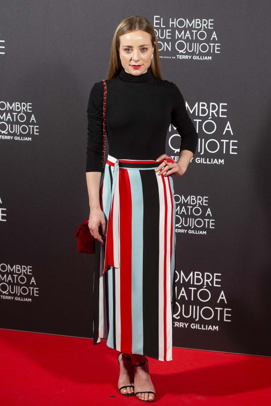 ANGELA CREMONTE at The Man Who Killed Don Quixote Premiere in Madrid 05/28/2018