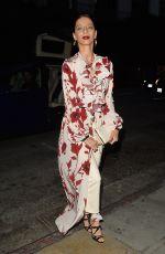 ANGELA SARAFYAN Arrives at Vogue Denim Dinner in Los Angeles 05/15/2018