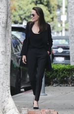 ANGELINA JOLIE Out and About in Beverly Hills 05/12/2018