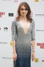 ANNA DANSHINA at Bromley Boys Premiere in London 05/24/2018