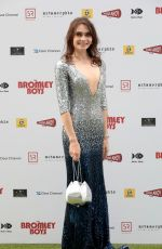 ANNA DANSHINA at Bromley Boys Premiere in London 05/24/2018