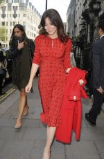 ANNA FRIEL Out and About in London 05/01/2018