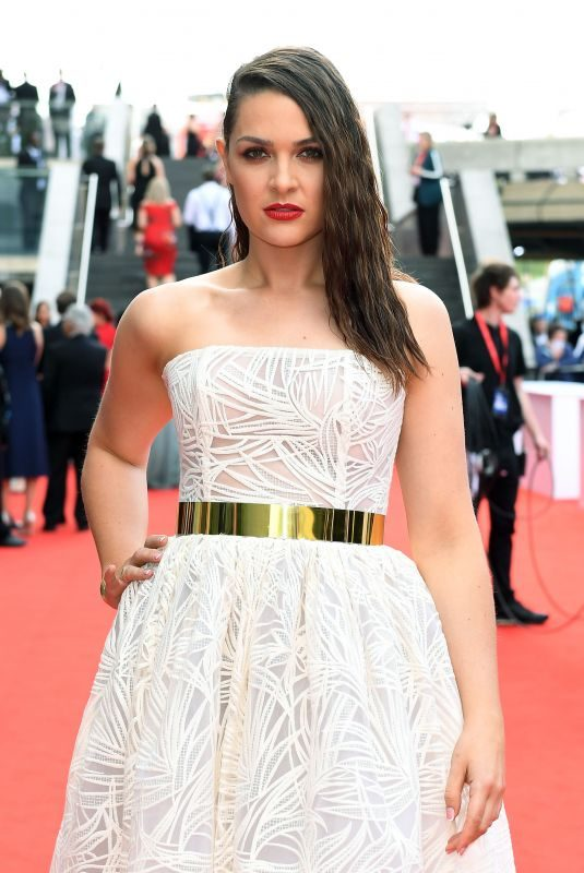 ANNA PASSEY at Bafta TV Awards in London 05/13/2018