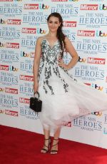 ANNA PASSEY at NHS Heroes Awards in London 05/14/2018