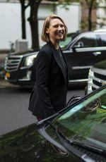 ANNA TORV Leaves Her Hotel in New York 05/19/2018
