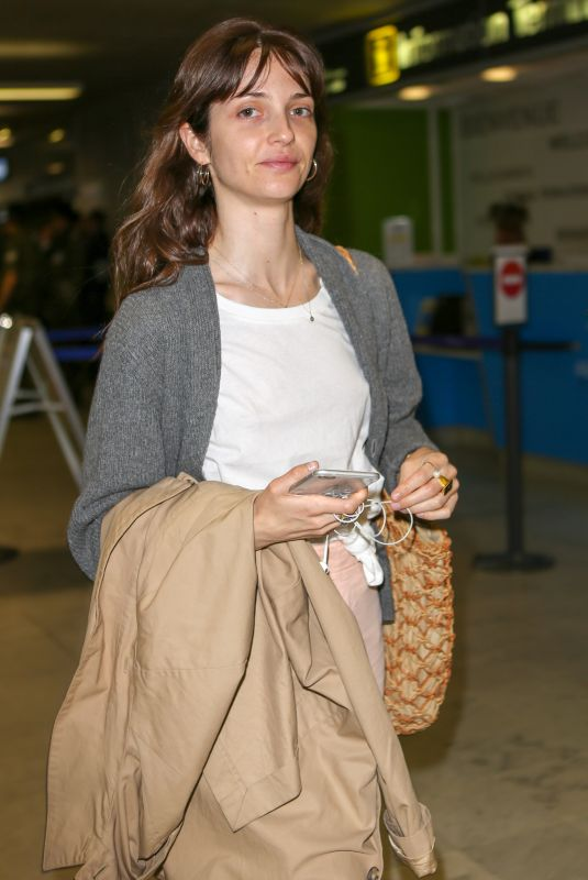 ANNABELLE BELMONDO Arrives at Nice Airport 05/07/2018