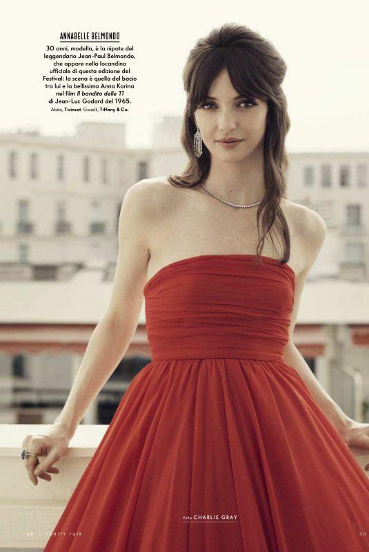 ANNABELLE BELMONDO in Vanity Fair Magazine, Italy May 2018